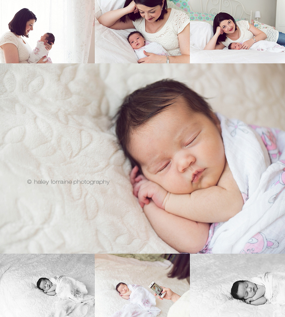 Lifestyle Vancouver Newborn Photographer